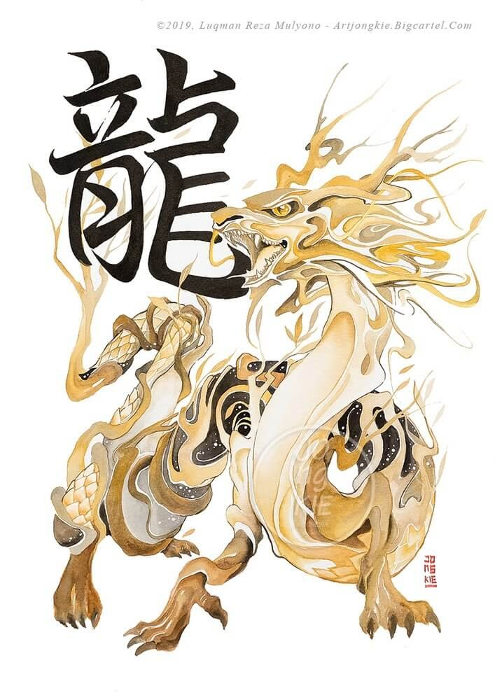05-The-Dragon-jongkie-Year-of-the-Pig-Chinese-New-Year-Zodiac-Drawings