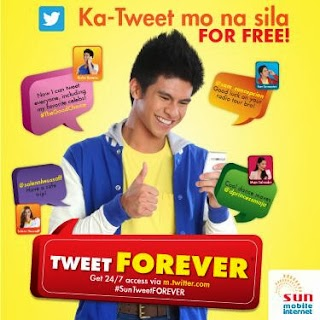 Sun TweeT Forever: Free and Unli Twitter Promo