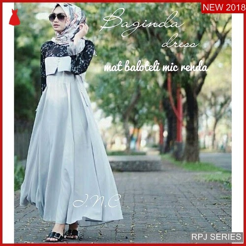 RPJ222D215 Model Dress Baginda Cantik Dress Wanita