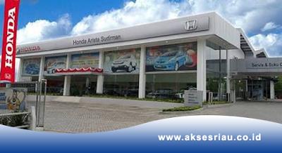 Lowongan PT. Honda Arista Sudirman Pekanbaru Oktober 2017