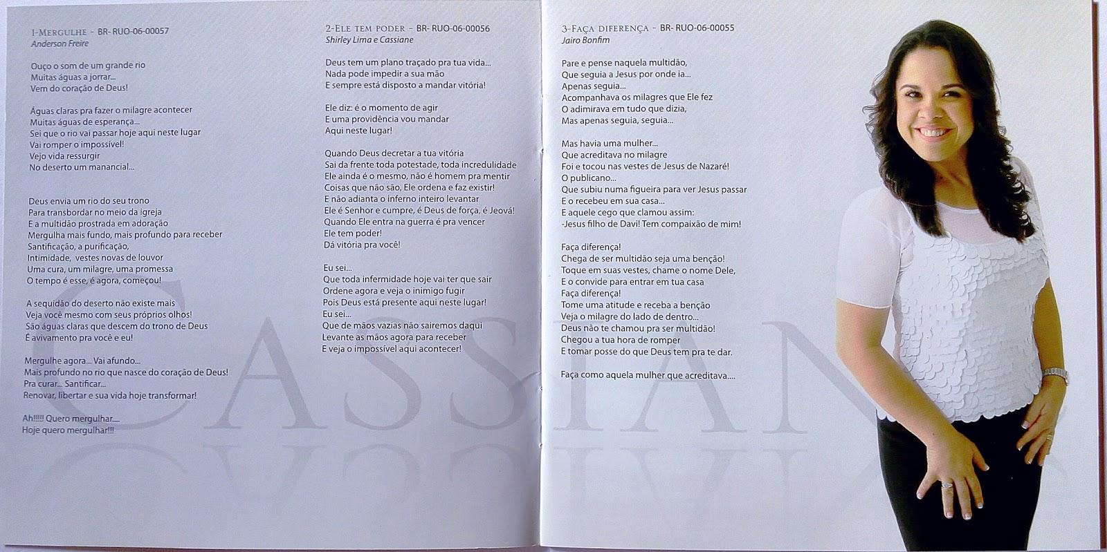 cd cassiane 2008