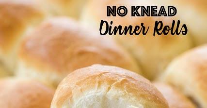 No Knead Dinner Rolls | Plain Chicken