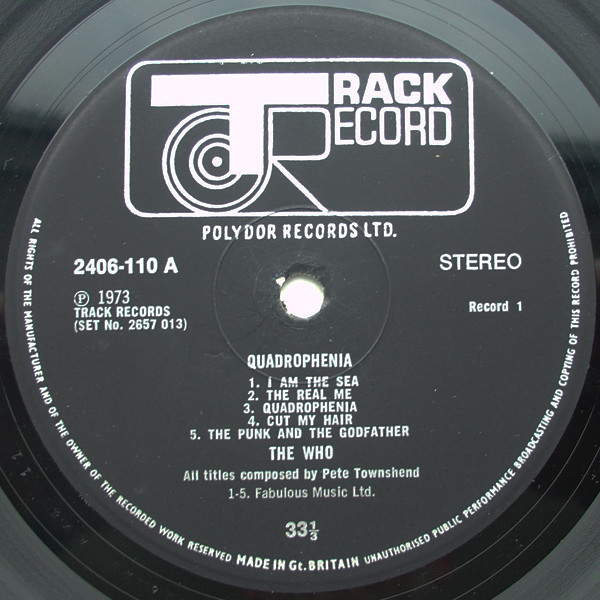 Company Record Sleeve Replica Of Original Used Early Parlophone Label Storage & Media Accessories