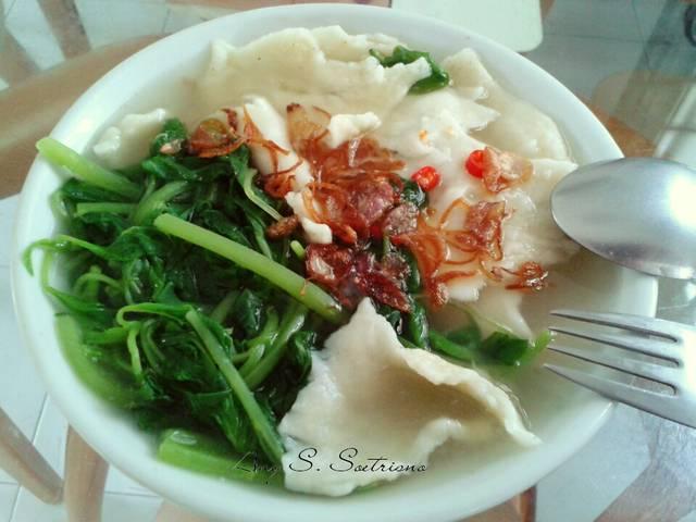 Mee Hoon Kueh Khas Chinesse food