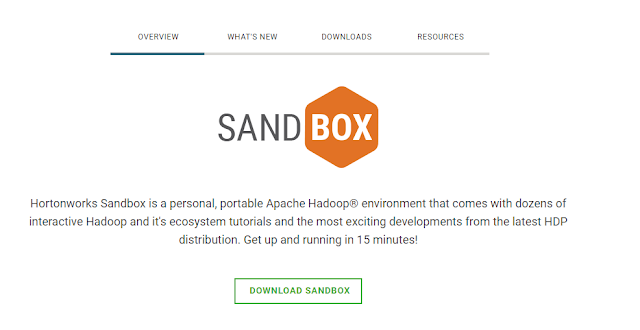 Download HortonWorks Sandbox