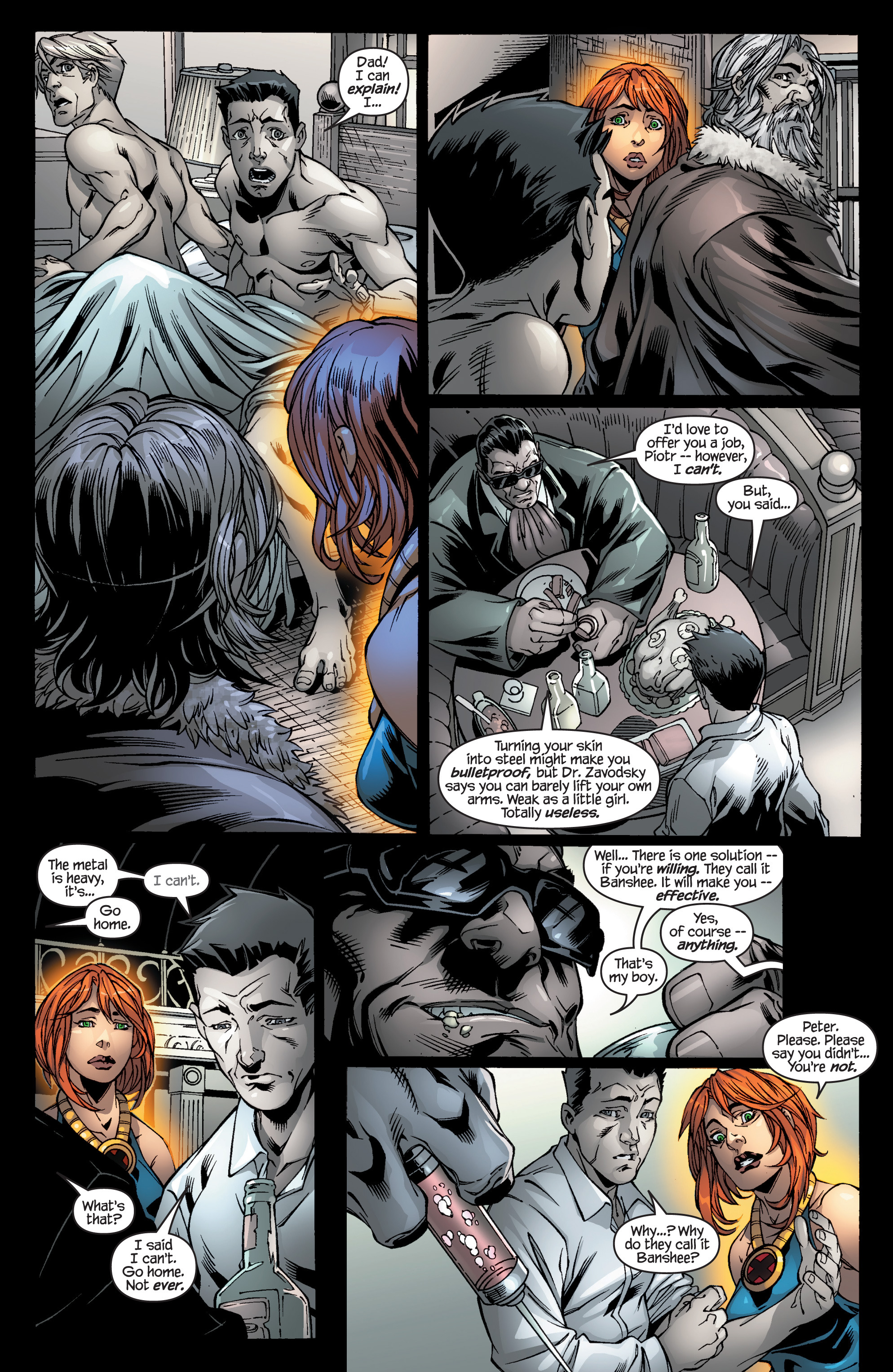 Read online Ultimate X-Men comic -  Issue #94 - 17