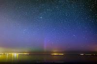 Zorza polarna nad Polską 06.05.2018 - Pierwoszyno, pomorskie. Autor: Marek Stan