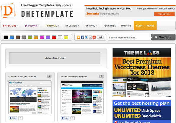 blogger templates by dhetemplate