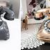 Eski Telefonları Bronz Renge Boyama