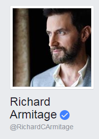 Richard Armitage na Facebooku