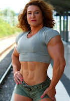 Amazon Muscle Girls Female bodybuilding