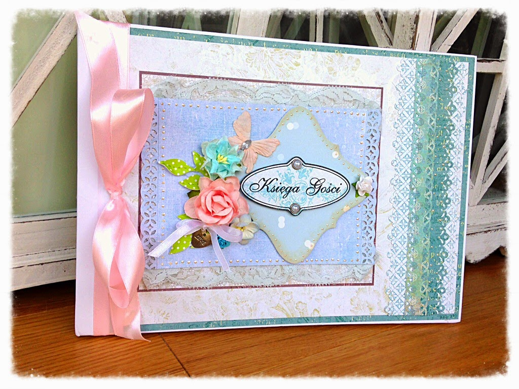 Scrapbooking Guest Book