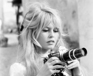Brigitte Bardot Casual Hair
