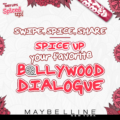 Maybelline Baby Lips Spiced Up Lip Balms #SwipeToSpice Giveaway - Winners Announced!