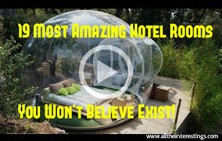 19 Most Amazing Hotel Rooms You Won't Believe Exist, world's most unique, beautiful hotel rooms , Most Extraordinary Hotel Rooms in the World
