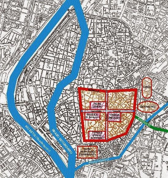 Arqueolugares Hispalis Sevilla Romana Andaluc 237 A E