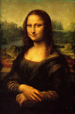 magnificent art- the Mona Lisa. A portal to another world
