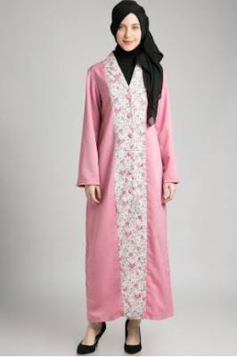 Model baju muslim motif untuk pesta