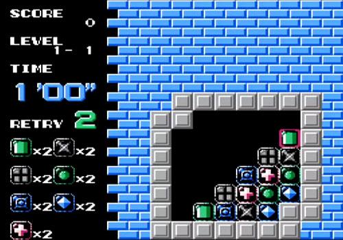 Puzznic NES