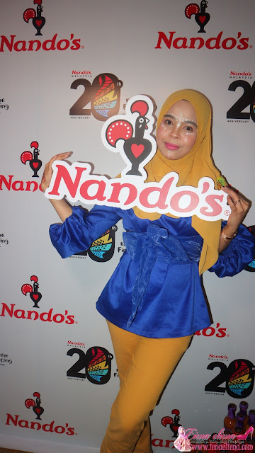Nando's Rai Ulang tahun ke-20