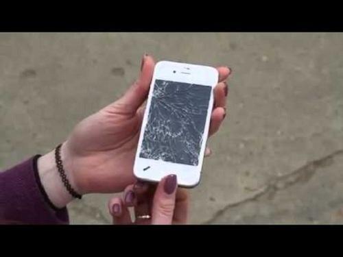 dấu hiệu iPhone 6 bị hỏng màn hình