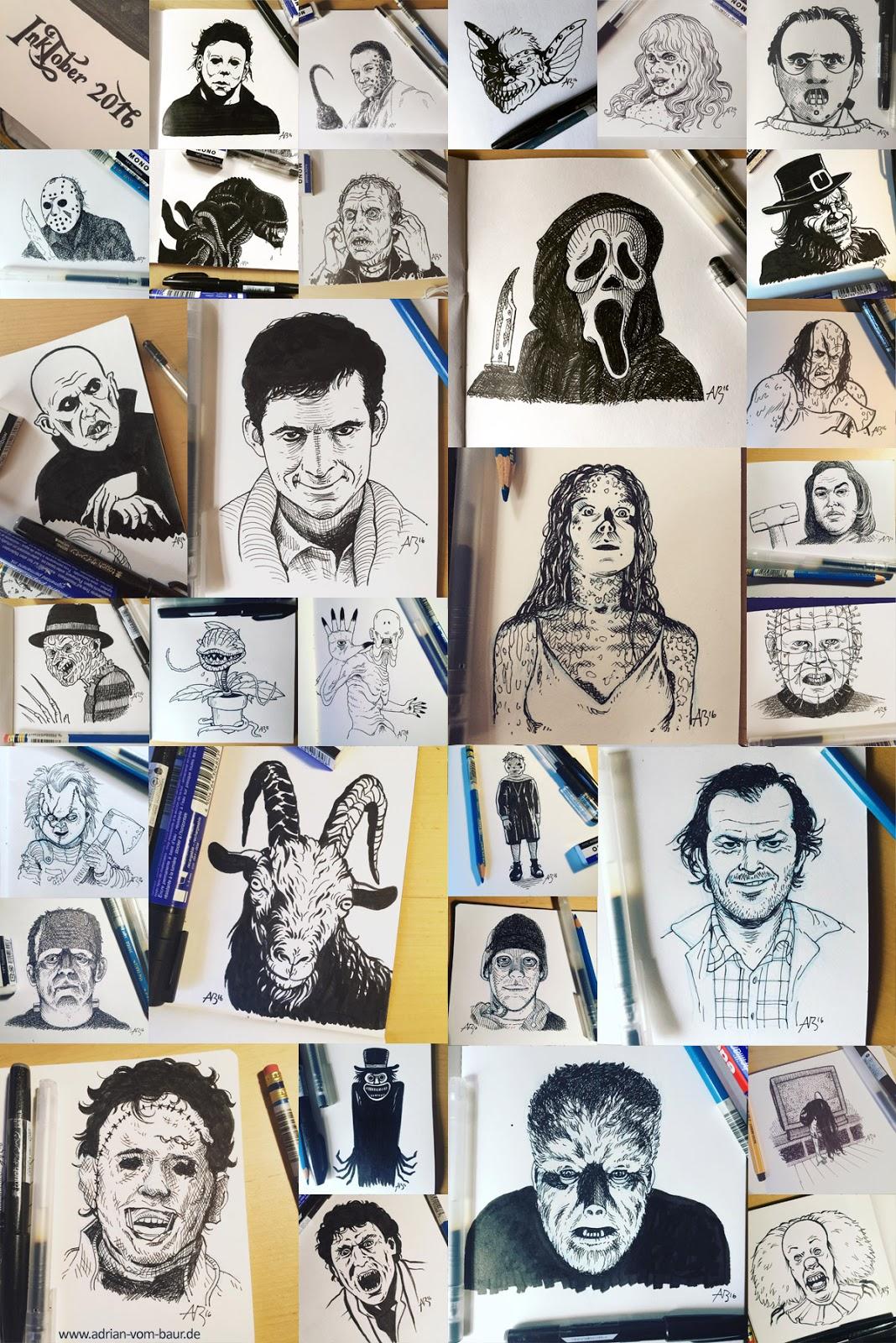 Adrian Vom Baur Comics Illustrations And Other Art Stuff 2016