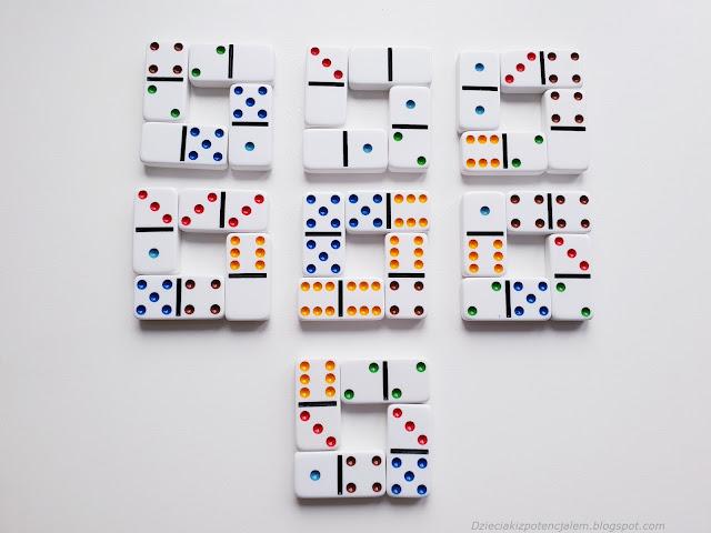 łamigłówka domino