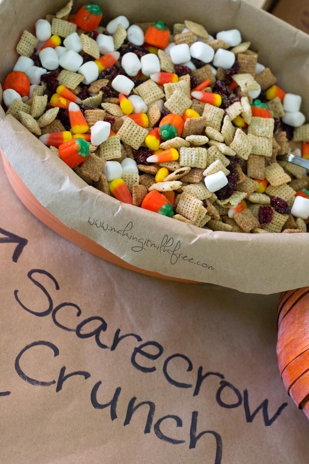 #dairyfree #glutenfree #nutfree #allergyfriendly #trailmix #fall #halloween