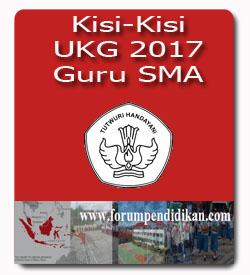Kisi-Kisi UKG 2017 SMA