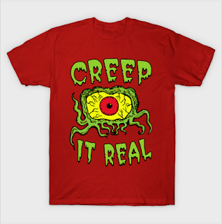 Crawling Eye t-shirt by JARHUMOR