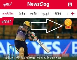news dog refer and earn trick