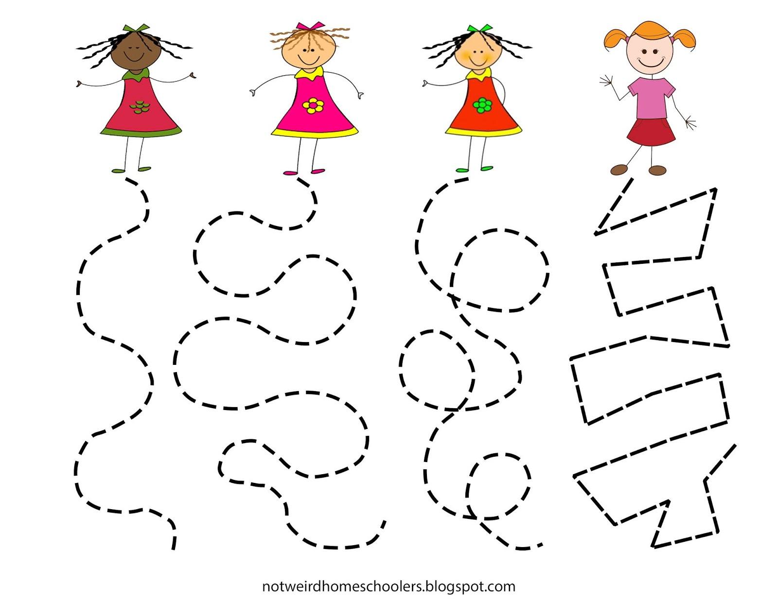 Free Homeschooling Resource Girl Tracks
