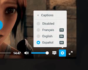 Reproductor de audio y video html5 con Plyr