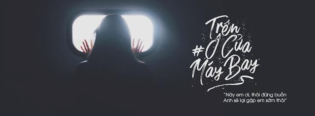 PSD Ảnh Bìa - Trên ô cửa máy bay