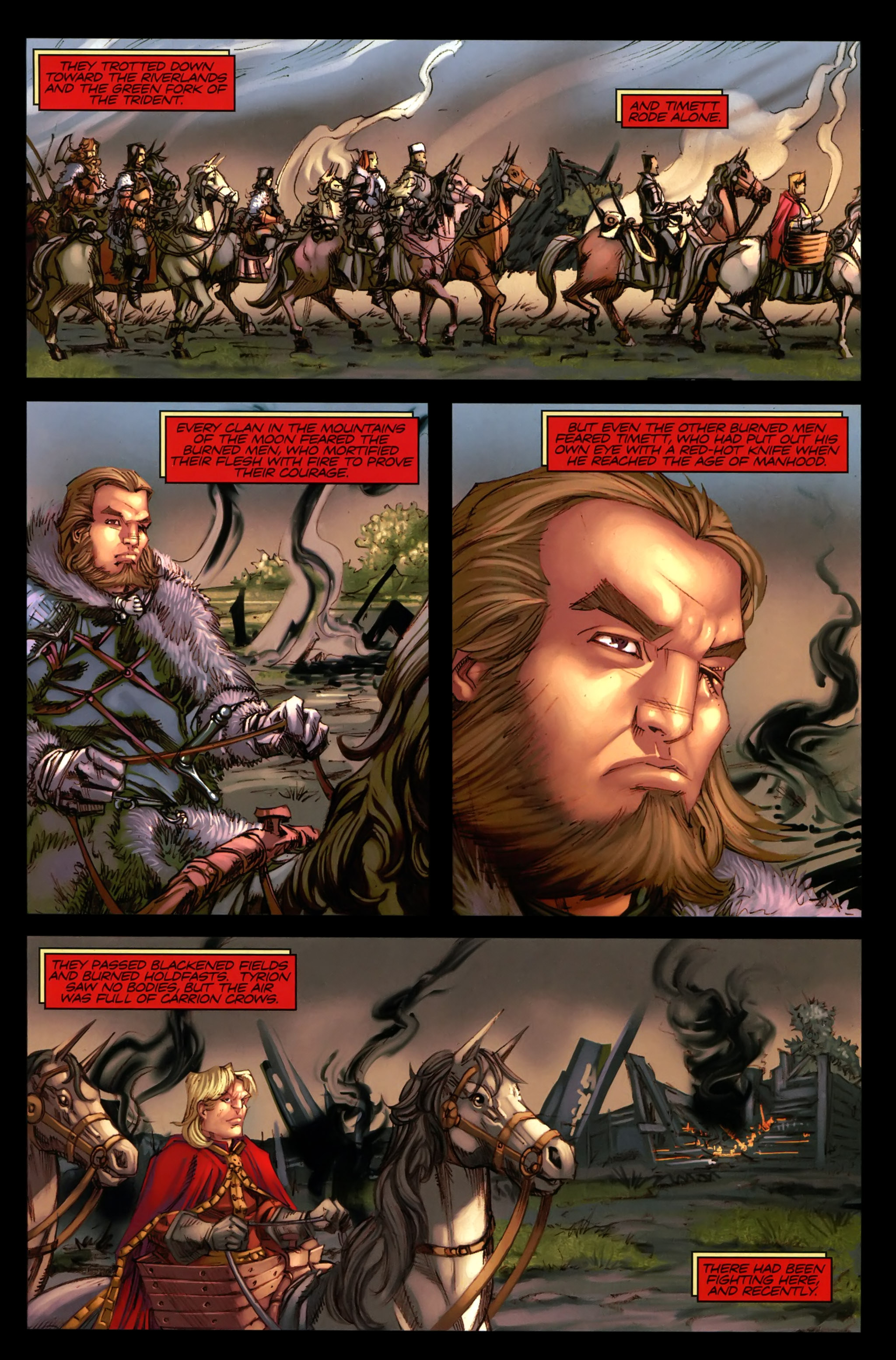 Read online A Game Of Thrones comic -  Issue #19 - 5