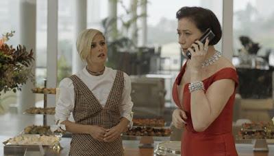 O Sétimo Guardião: Louise quer matar Valentina, mas vilã dá a volta por cima