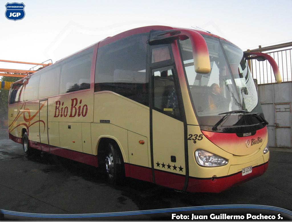 Buses en chile juan guillermo pacheco s bio bio n 235 for Mercedes benz biography