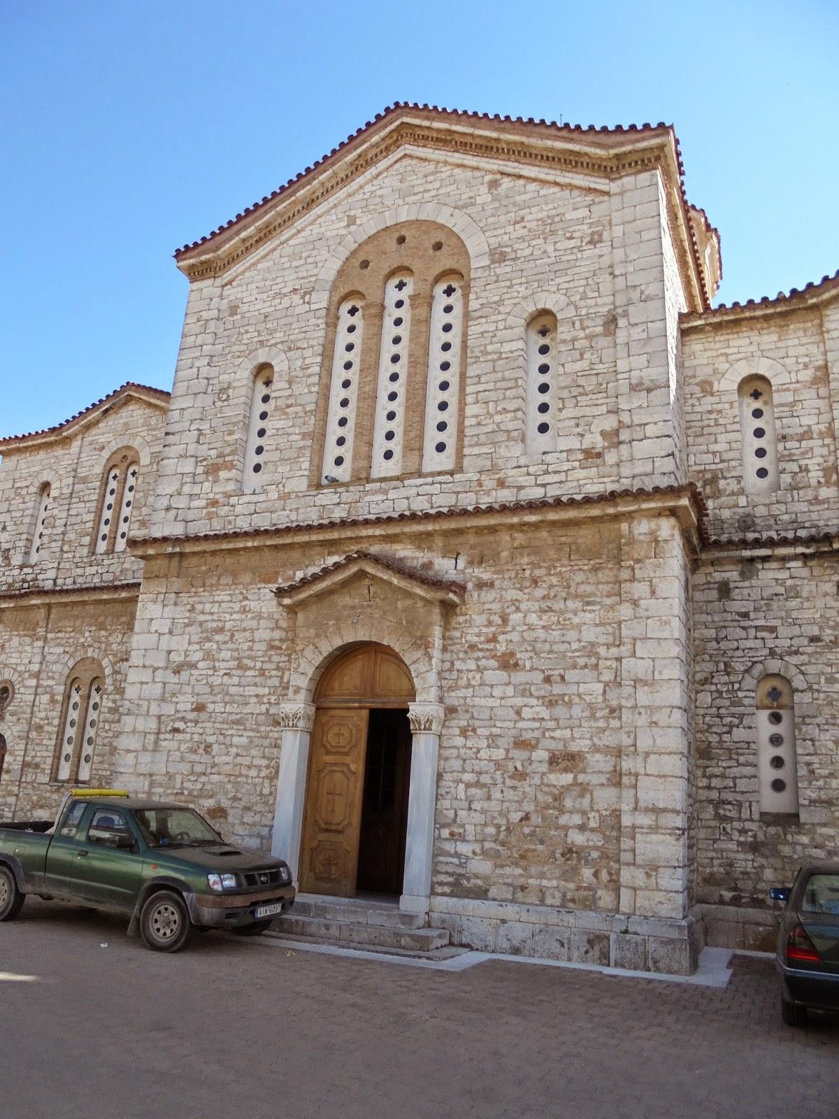 ο ναός του αγίου Σπυρίδωνα στο Μεσολόγγι