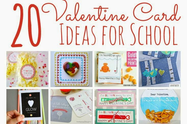 20 Valentine Card Ideas For School