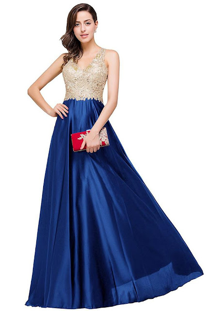 """8 Classic Dresses for Prom"" Blog Post/Article by @TheGracefulMist (www.TheGracefulMist.com) - Beautifully Bold Prom Dress - Royalty Style"