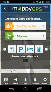 MappyGPS,Transformez votre mobile en vrai GPS