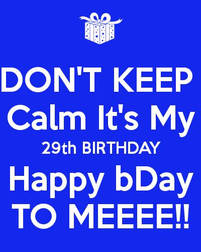 BONGO SHOPAHOLICS: HAPPY 29TH BIRTHDAY TO ME