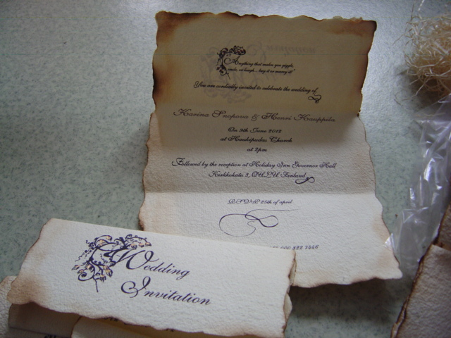 how to make a letter look old the northern our wedding invitations 22325
