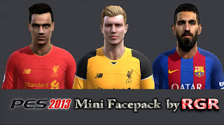 PES 2013 Mini Facepack v2 by Rgr DS
