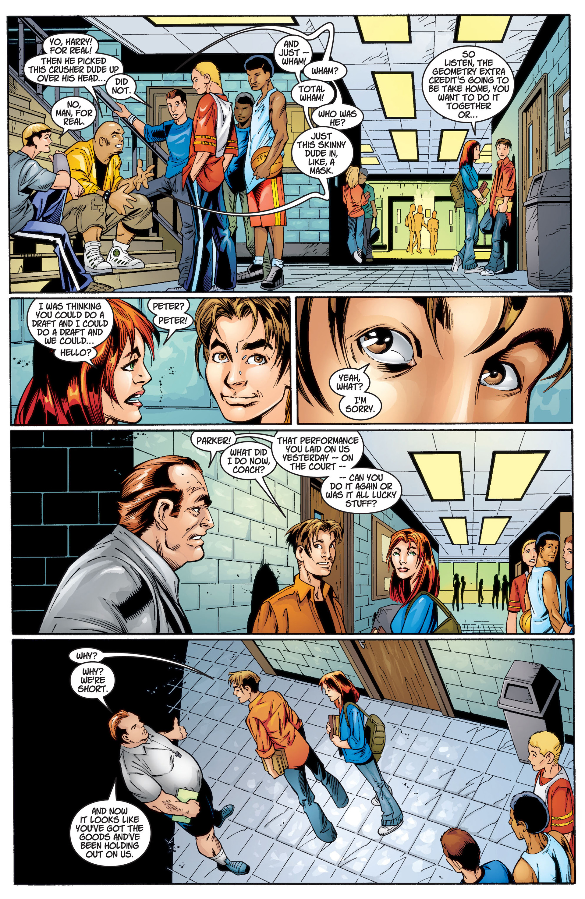 Read online Ultimate Spider-Man (2000) comic -  Issue #3 - 13
