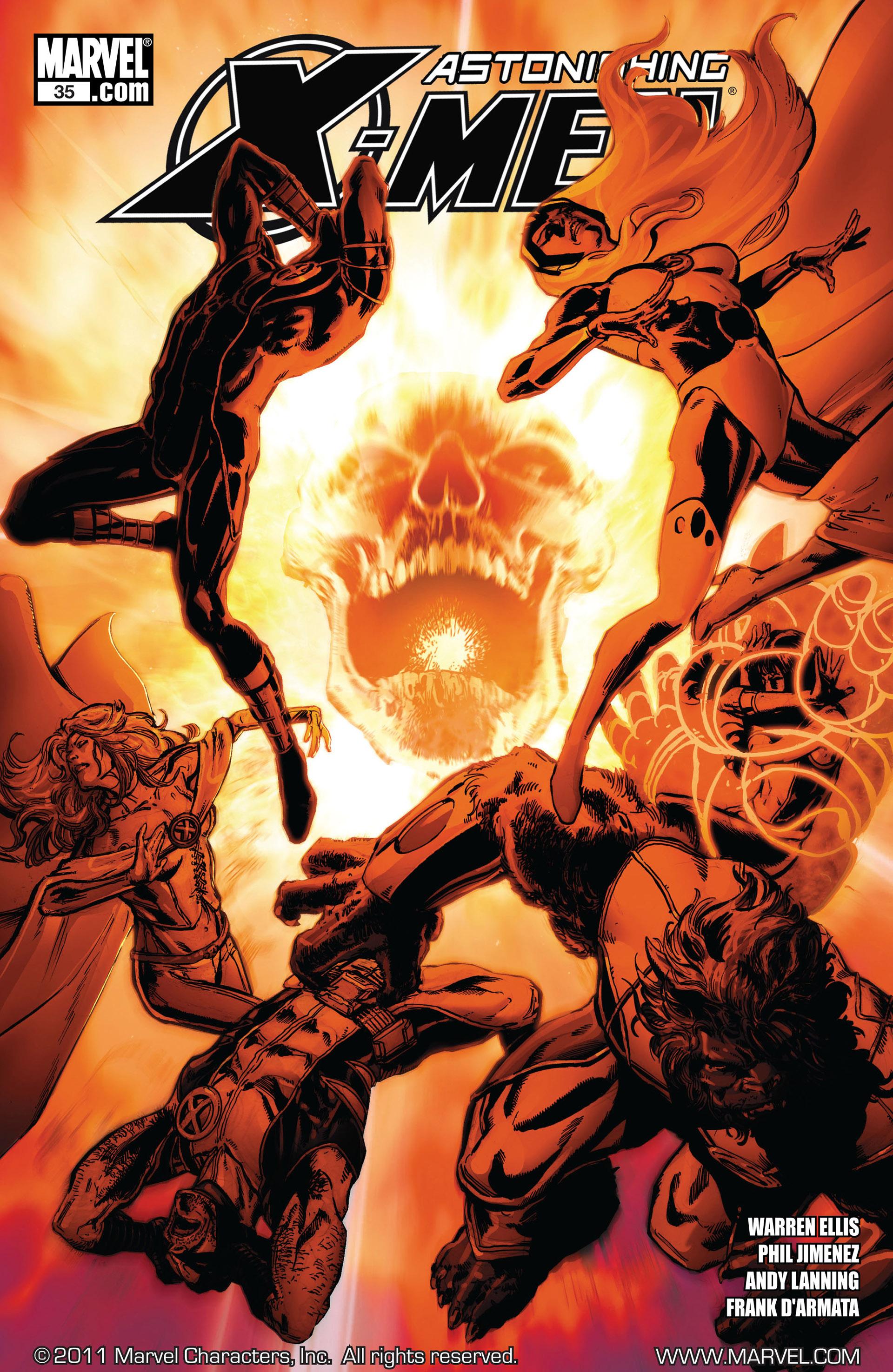 Read online Astonishing X-Men (2004) comic -  Issue #35 - 1