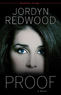 Bloodline Trilogy 1, a blue-eyed woman's face is shown on the book cover