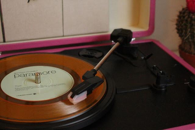 Crosley vinyl Player Paramore