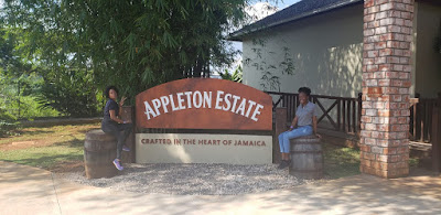 appleton estate entrance sign, Chevy Takes The Mic Jamaican Travel Blog Series Adventures in St. Elizabeth