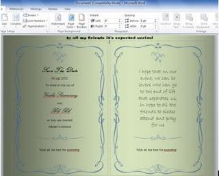 Membuat Undangan Terbaru Dengan Microsoft Word